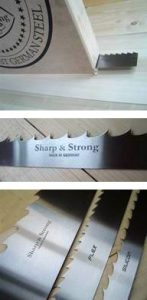 Portable Bandsaw Blades 1 - SILICON - Wood Band Saw Blades
